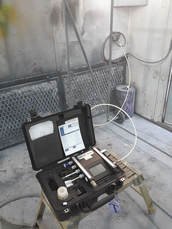 breathing air compressor air quality test